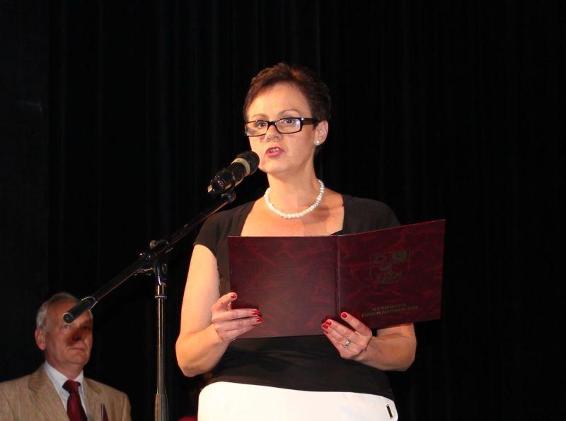 Alicja Hromada prezentuje założenia Programu Aktywności Młodzieży