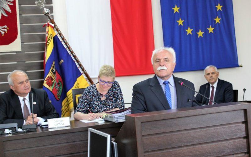 O szpitalu na sesji Rady Powiatu