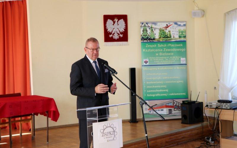 Otwarcie pracowni w Zespole Szkół i Placówek Kształcenia Zawodowego w Bielawie